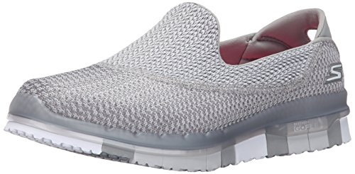 Skechers Go Flex, Baskets Basses Femme, 36 EU Grau (Gry)