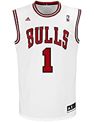 adidas Derrick Rose NBA Swingman Bulls Men's Basketball Jersey