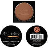 Aesthetica Cosmetics Powder Refill for Contour and Highlighting Powder Foundation Palette, Color: Sunkissed