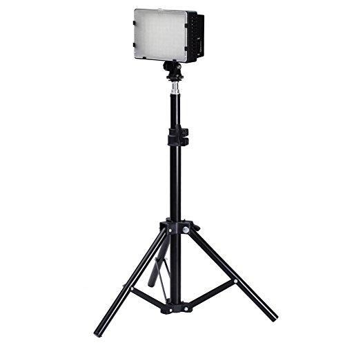 Galleria fotografica Neewer® Fotografia 126 Kit di Illuminazione a LED Studio, Include (1) Videocamera Panello CN-126 Ultra Alta Potenza Digitale DSLR Videocamera LED Light (1) 32 / 80cm Alto Fotografia Mini Luce Stabilizzatore