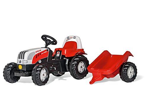 Imagen 1 de rolly toys rollyKid Steyr 6165 CVT Pedal Tractor - Juguetes de montar (520 mm, 1340 mm, 470 mm, 8,2 kg, 815 mm, 425 mm)