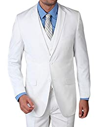 Kebello - Costume 3 Pièces blanc Santoni