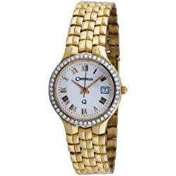 Orphelia mon-7018 - Reloj analógico de cuarzo para mujer, correa de dorado color dorado