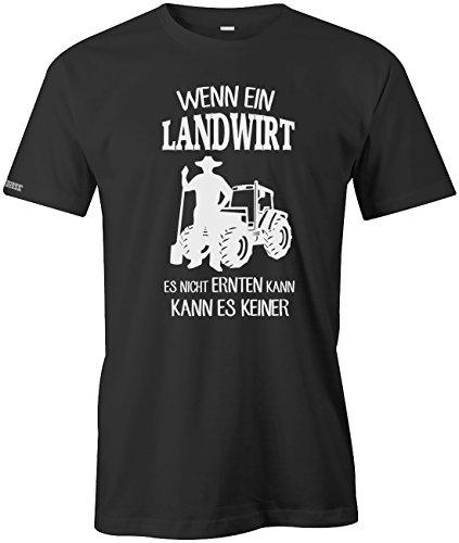 Jayess Wenn ein Landwirt ES Nicht ERNTEN Kann - Kann ES Keiner - Herren - T-Shirt Schwarz