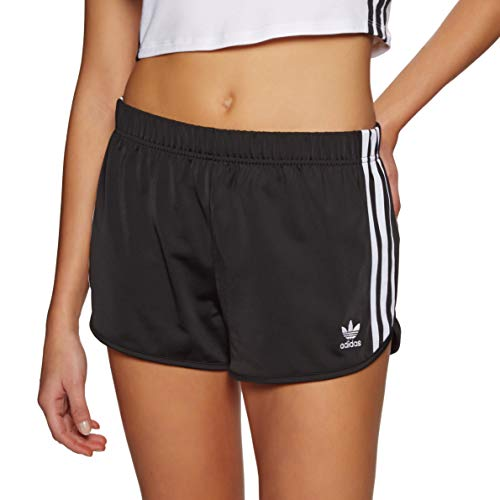adidas Damen 3 STR Sport Shorts, Black, 46 -