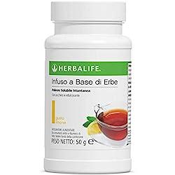 Herbalife Thermojetics Boisson à base de tisane 50gm (citron)–pour perdre des centimètres, permet de perdre du poids rapidement.