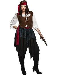 Sexy Piratenkostüm für Damen - karibischer Pirat - Größe XL/42-44
