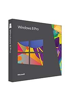 Windows 8 Pro Upgrade 32/64 Bit (Product Key Card) - w / Free Updates to 8.1 Pro