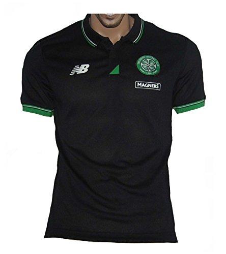 2015-2016 Celtic Training Polo Shirt (Black)
