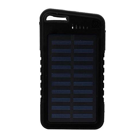 SOMESUN Solaire Power Bank 20000mAh Grande capacité Portable Imperméable Double USB Externe Batterie Chargeur pour les smartphones Iphone Andriod