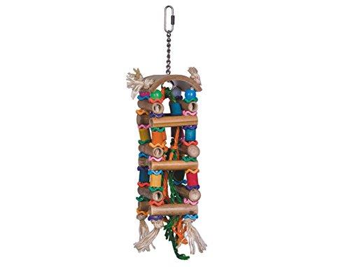 Nobby 31664 Cage Toy Turm aus Bambus 33 x 8 cm (Bambus-turm)