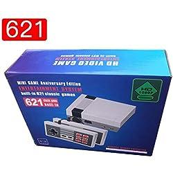 Portátil Retro Family Mini 8 bits Consola 621 Classic Edition Juegos-(HDMI Europe Standard )