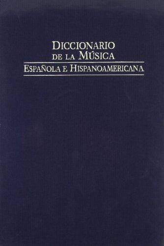 Diccionario de la musica española e iberoamericana 5 (Fondos Distribuidos) por Emilio Casares Rodicio