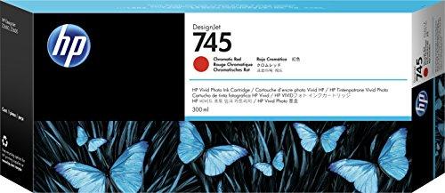 Hewlett Packard 936574 Cartouche d'encre d'origine compatible avec Imprimante HP DesignJet Z2600 PostScript Rouge