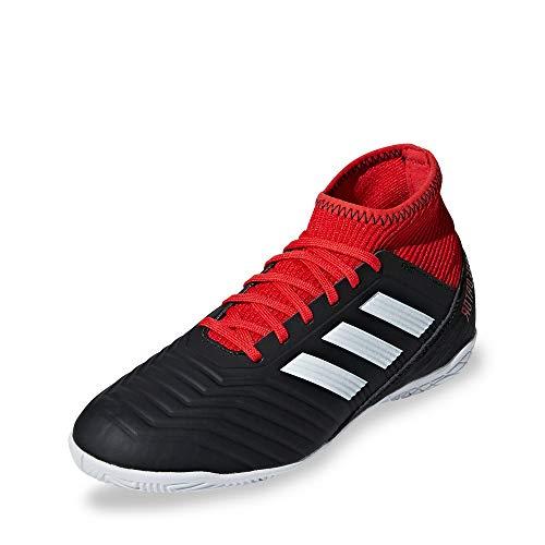 adidas Unisex-Kinder Predator Tango 18.3 In Futsalschuhe, Schwarz (Negbás/Ftwbla/Rojo 001), 34 EU
