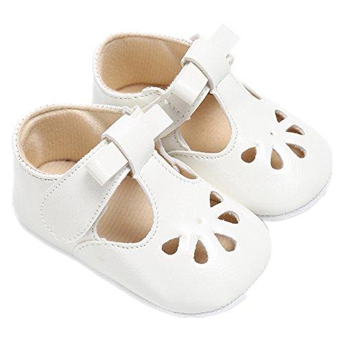 Baby Schuhe, Morbuy Sommer Fashion Unisex Sandalen Neugeborene 0-18 Monate Anti-Rutsch Weiche Alleinige Kleinkind Schuhe Krabbelschuhe Wanderer Weiche Alleinige Schuhe (11cm, Weiß)