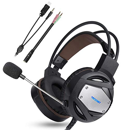 TeckNet Auriculares Gaming PS4 Xbox One