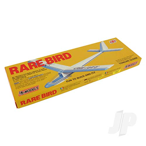 Seltener Vogel: DPR Schleppleine Freiflugsegelflugzeug Balsaholz Modellflugzeug Spannweite 900mm
