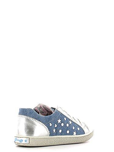 Primigi , Baskets pour fille - Argento/jeans