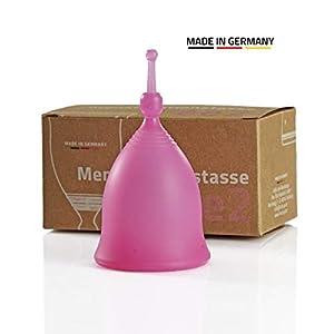 FEE Menstruationstasse Feecup CLASSIC (pink) | Made in Germany | Deutsches, medizinisch zertifiziertes Silikon | Vegan – Frei von Weichmachern und Plastik