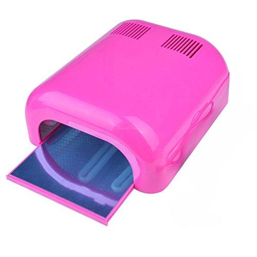 Lampe UV manucure pour ongles en gel 36W ROSE