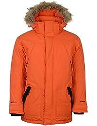 Karrimor Mens Parka Jacket Coat Top Hooded Zip Fur Trim Faux