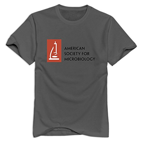 26415019400 VAVD DeepHeather Man's American Society for Microbiology Short Sleeve T  Shirt Size L