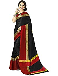 Sarees For Women Sarees New Collection Sarees For Women Latest Design Women's Multi Cotton Silk Saree With Blouse...