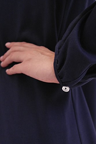 Rösch Damen Nachthemd Marine