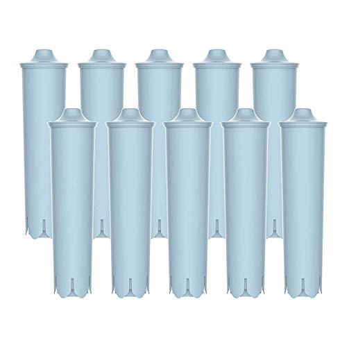 10 x Filterpatrone AquaCrest kompatibel Jura Claris blue ENA