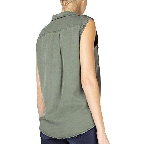 Le Temps des Cerises, T-Shirt Donna Vert (Lizard)