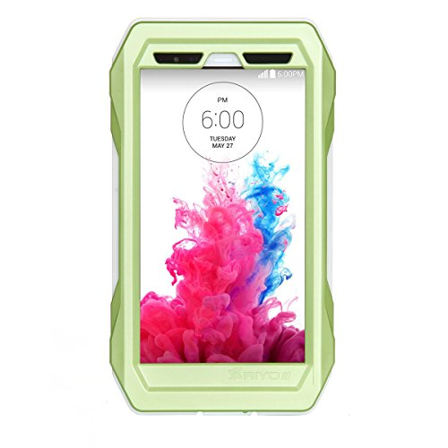 Forhouse LG G3 Warerproof Case, Water Resistant case with Screen Protector for LG G3, Sport Exercise Running Hiking, Etc Green