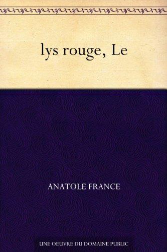 Couverture du livre lys rouge, Le