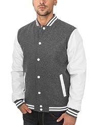 Urban Classics Herren Jacke Bekleidung Oldschool College Jacket