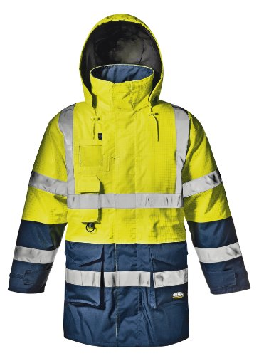 Sir Safety 35215MicroBattery olines Veste Multifonction, 35215 jaune