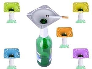Cendrier avec embout pour fixation sur bouteille (