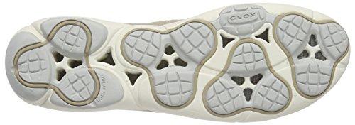 Geox D Nebula C, Sneakers Basses femme Beige (LT TAUPEC6738)