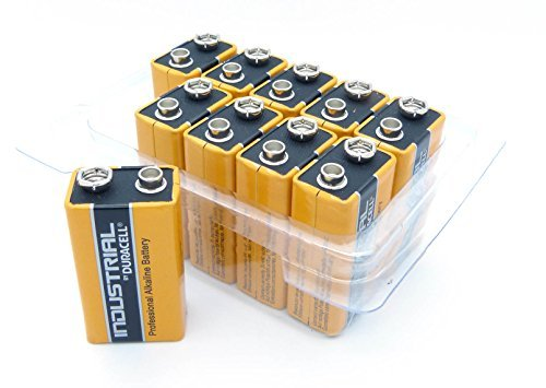 Duracell Batterie 4 x 10 Duracell 9 V Industrial, Stück: 1 Procell 9v-batterie