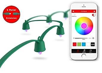 mipow playbulb string led lichterkette. Black Bedroom Furniture Sets. Home Design Ideas