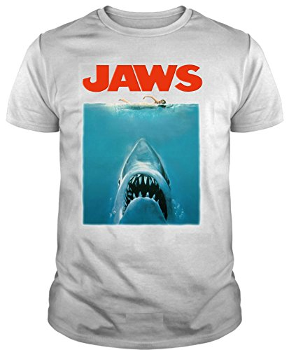 The Fan Tee Camiseta de Hombre Varios Peliculas Tiburon PELICULA Terror Retro...