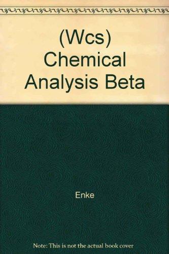 (Wcs) Chemical Analysis Beta
