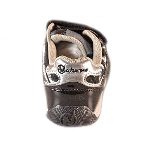 Naturino - Naturino kinderschuhe schwarz silber Sport 370 Schwarz