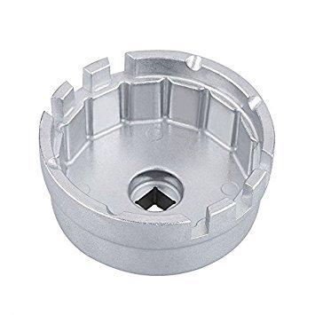 TOOGOO Aluminum Werkzeug Zum Entfernen Des ?lfilterschlüssels