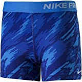Nike Performance Girls Funktionsunterhose 'NP CL Short Boy AOP 2' blau (51) S
