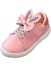 OHQ Sneaker Unisex Leggero per Ragazzi Ragazze Sneaker Nuove Sneakers  Scarpe da Ginnastica Basse Bambina Scarpe 21c7f43f040