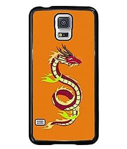 Fuson Designer Back Case Cover for Samsung Galaxy S5 Mini :: Samsung Galaxy S5 Mini Duos :: Samsung Galaxy S5 Mini Duos G80 0H/Ds :: Samsung Galaxy S5 Mini G800F G800A G800Hq G800H G800M G800R4 G800Y (Chinese New Year China Animal )