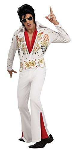 ley-Kostüm für Herren XL (Elvis Kostüm Perücke)