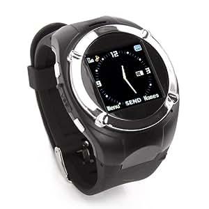 """Flylink - MQ998 - Montre étanche téléphone portable - Ecran 1.5"""" - Quadri bande - Caméra - MP3/MP4"""