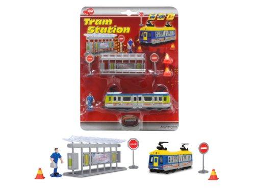 Dickie-Spielzeug 203315390 - Straßenbahn Station