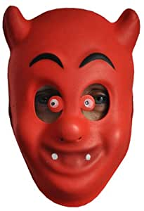 Goodmark - Déguisement - Masque Enfant - Diable Rouge (Fêtes d'Halloween, Carnaval etc)